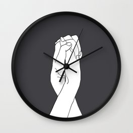 Never Let Me Go III Wall Clock