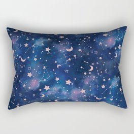 Zodiac - Watercolor Rectangular Pillow