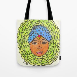 Cabbage Wrap Kid Tote Bag
