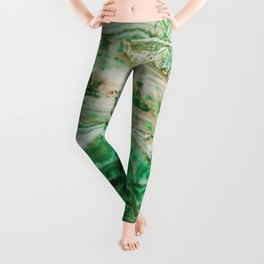 MINERAL BEAUTY - MALACHITE Leggings