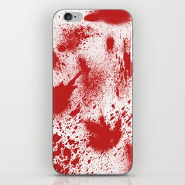 Bloody Blood Spatter Halloween iPhone Skin