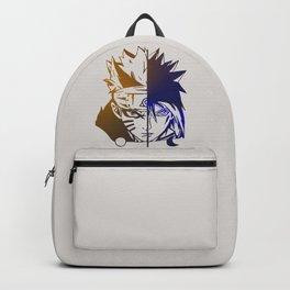 Naruto Sasuke Combination Backpack