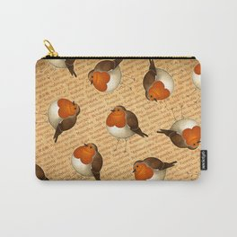 Chubby Erithacus Carry-All Pouch