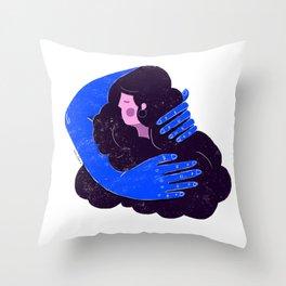 Warm love Throw Pillow