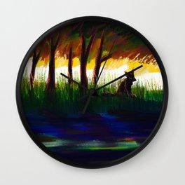 to still waters Wall Clock