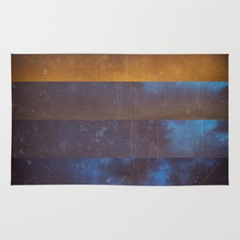 cold sunset Rug