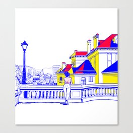 Romania Canvas Print