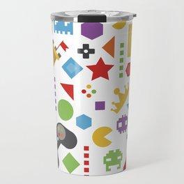 video game pattern Travel Mug