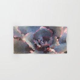 Crystallized Purple Succulent Hand & Bath Towel