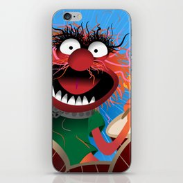 Animal Muppets' Drummer iPhone Skin