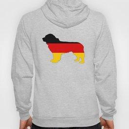 German Flag - Newfoundland Dog Hoody