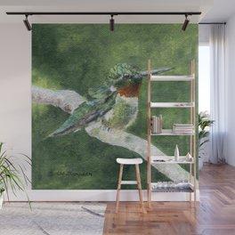 Romeo the Hummingbird by Teresa Thompson Wall Mural