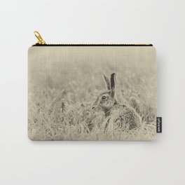 Brown Hare Carry-All Pouch