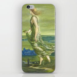 "Sir Edward Coley Burne-Jones ""Evening"" iPhone Skin"