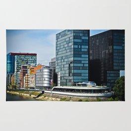 Düsseldorf, Germany Cityscape Rug