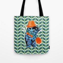 Kitten Gentelman Tote Bag