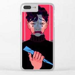 Bruce Wayne Clear iPhone Case