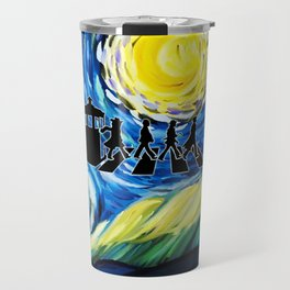 The Doctor With Starry Night Travel Mug