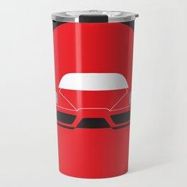 Minimal Enzo Ferrari Travel Mug