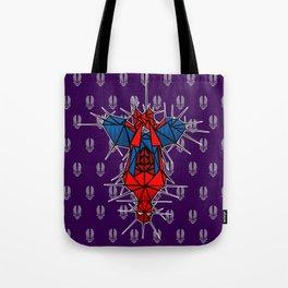 Abstract webslinger Tote Bag