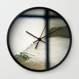 Jail Cell : Sachsenhausen Concentration Camp, Oranienburg, Germany. Wall Clock