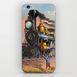 The Fast Mail,  1875 iPhone Skin