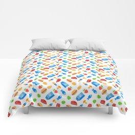 It's kind of a big dill ( fun food pattern) Comforters