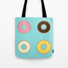 Four Doughnuts Tote Bag