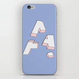 Deconstructed A iPhone Skin