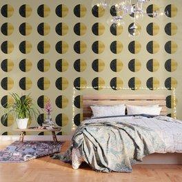 Black and Gold Circle 03 Wallpaper