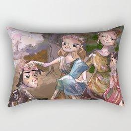 Ye Olde Galaxy Far Far Away Rectangular Pillow