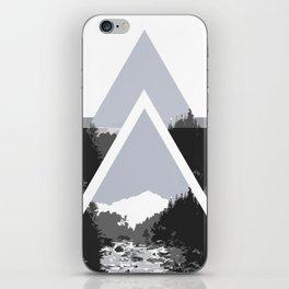 Landscape in Triangles iPhone Skin