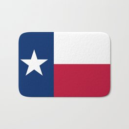Texas State Flag, Authentic Version Bath Mat