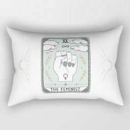 The Feminist Rectangular Pillow