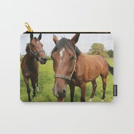 horses Carry-All Pouch