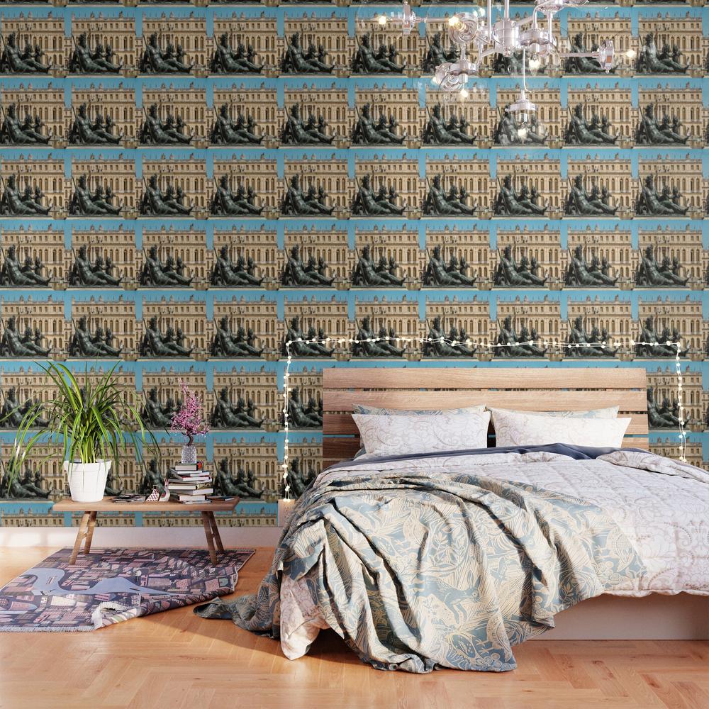 Poseidon Sculpture Wallpaper by Rekcreative WPP9015389