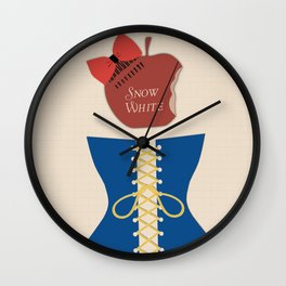 The Original Story: Snow White Wall Clock