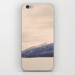 Winter Mountain iPhone Skin