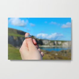 Claddagh Ring in Ireland Metal Print