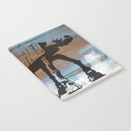 Blue Hoth Notebook