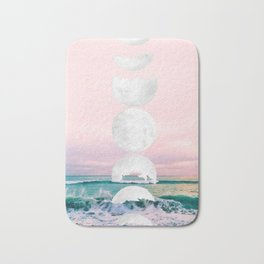 The Moon and the Tides Bath Mat