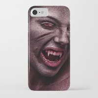 the vampire diaries iPhone & iPod Cases featuring vampire by Photoplace