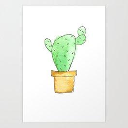 The cactus Art Print