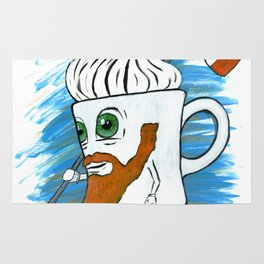 Irish Coffee Mug Rug