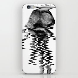 Hand of the artist iPhone Skin