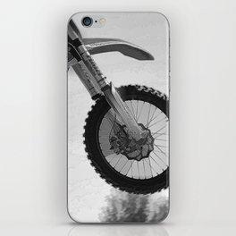 Motocross Dirt-Bike Racer iPhone Skin
