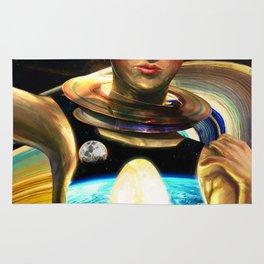 Immigrant to Saturn I Rug