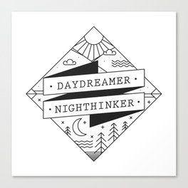 daydreamer nighthinker II Canvas Print