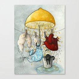 Rainy Days #2 Canvas Print