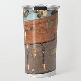 Old suitcases Travel Mug